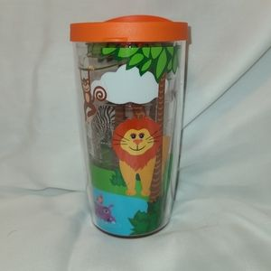 🐠3/$25 Tervis 10oz Kids Zoo animals tumbler cup